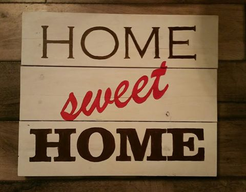 Home Sweet Home Sign Design by Toni Dent
